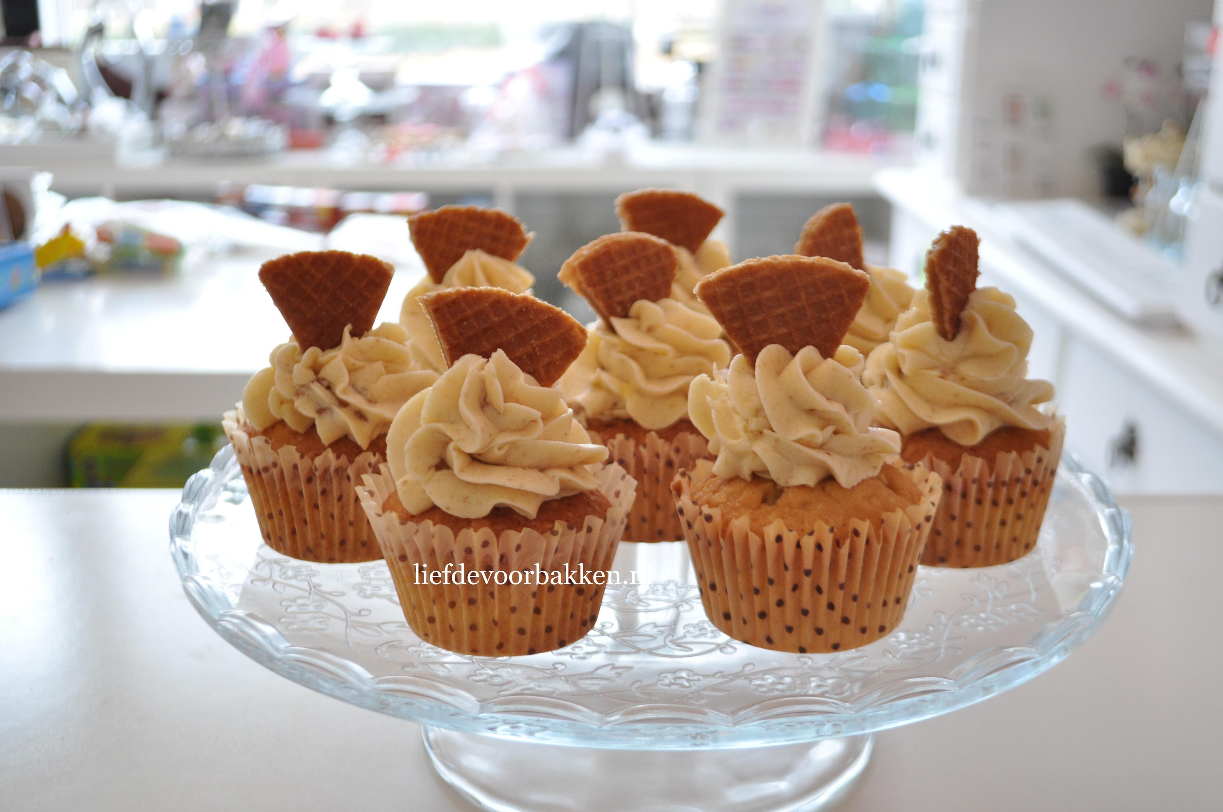 Stroopwafelcupcakes