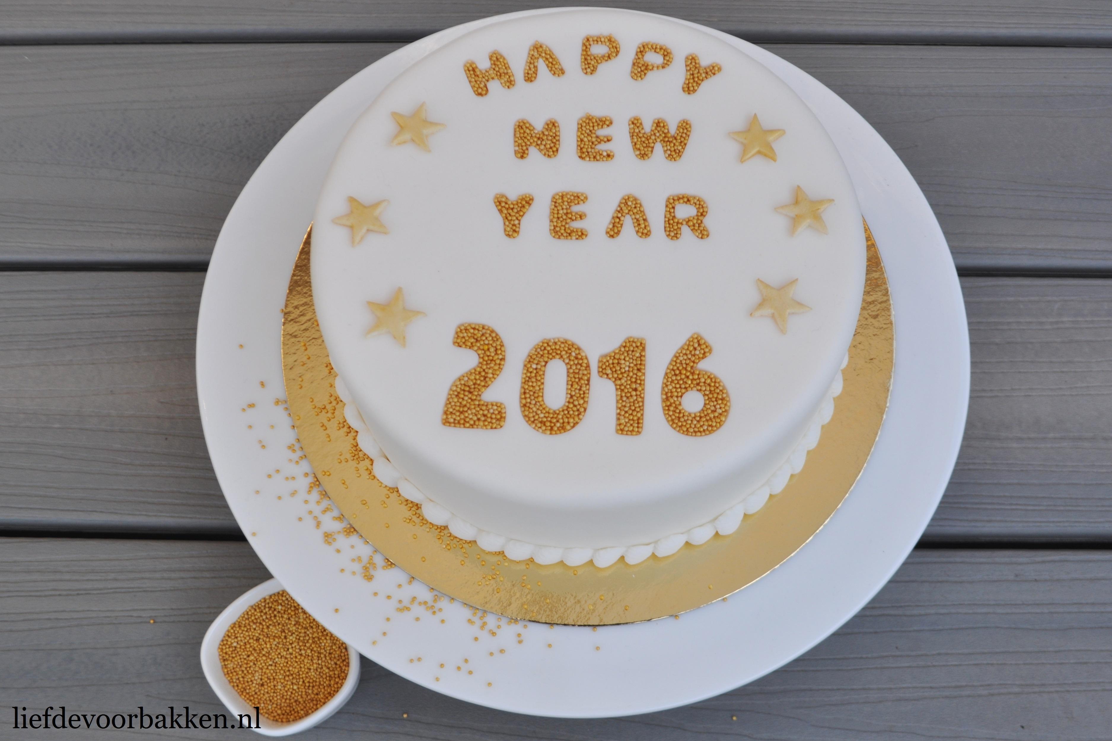 Nieuwjaars taartje!