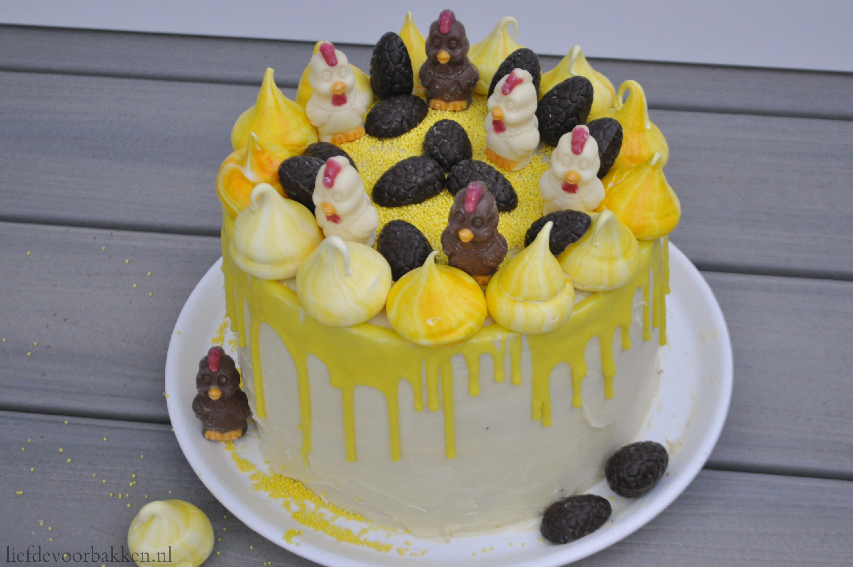 Dripcake voor Pasen