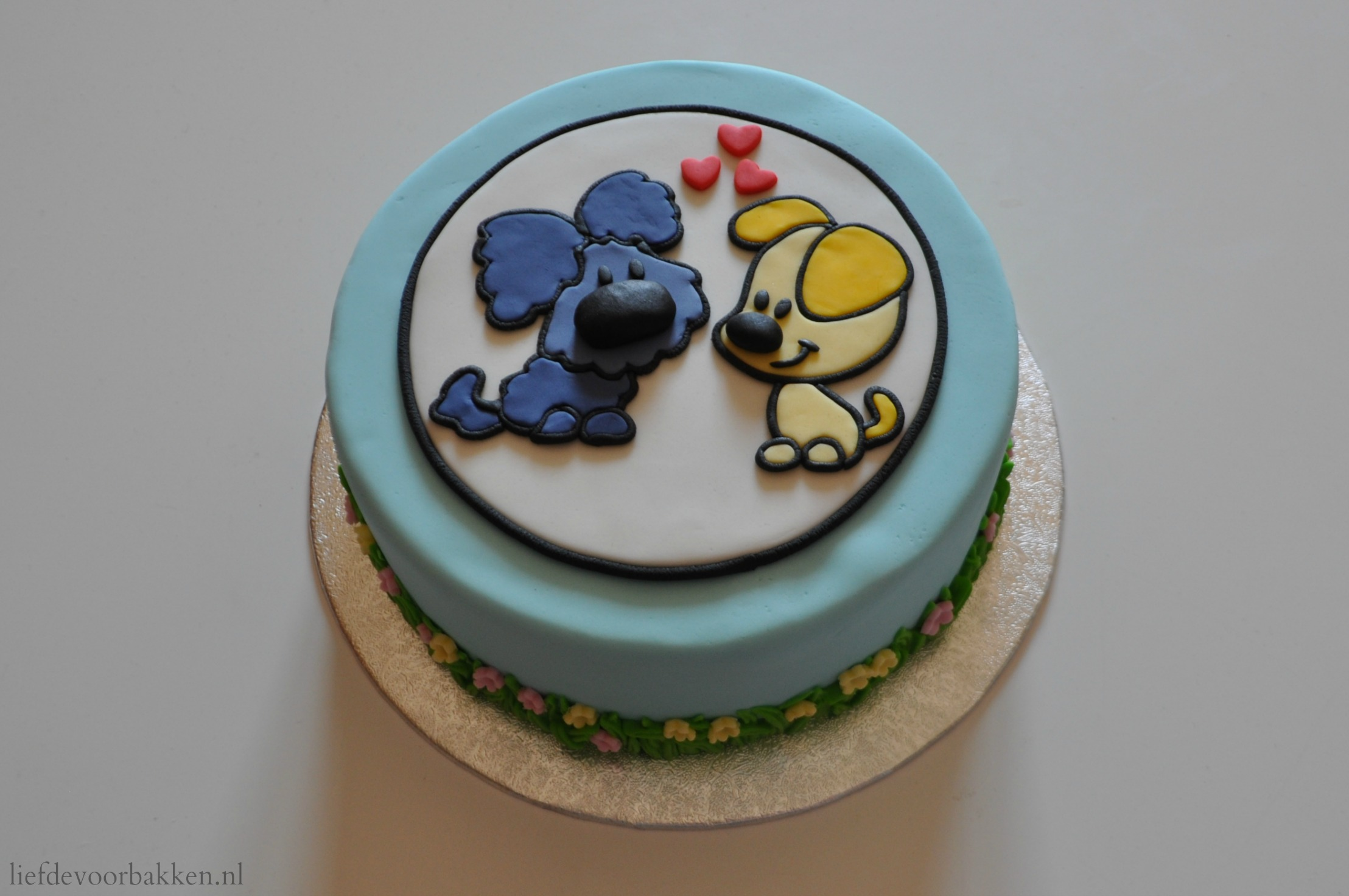 woezel en pip taart laten maken Woezel & Pip taart: hoe maak je een puzzelplaatje? – Liefde voor  woezel en pip taart laten maken