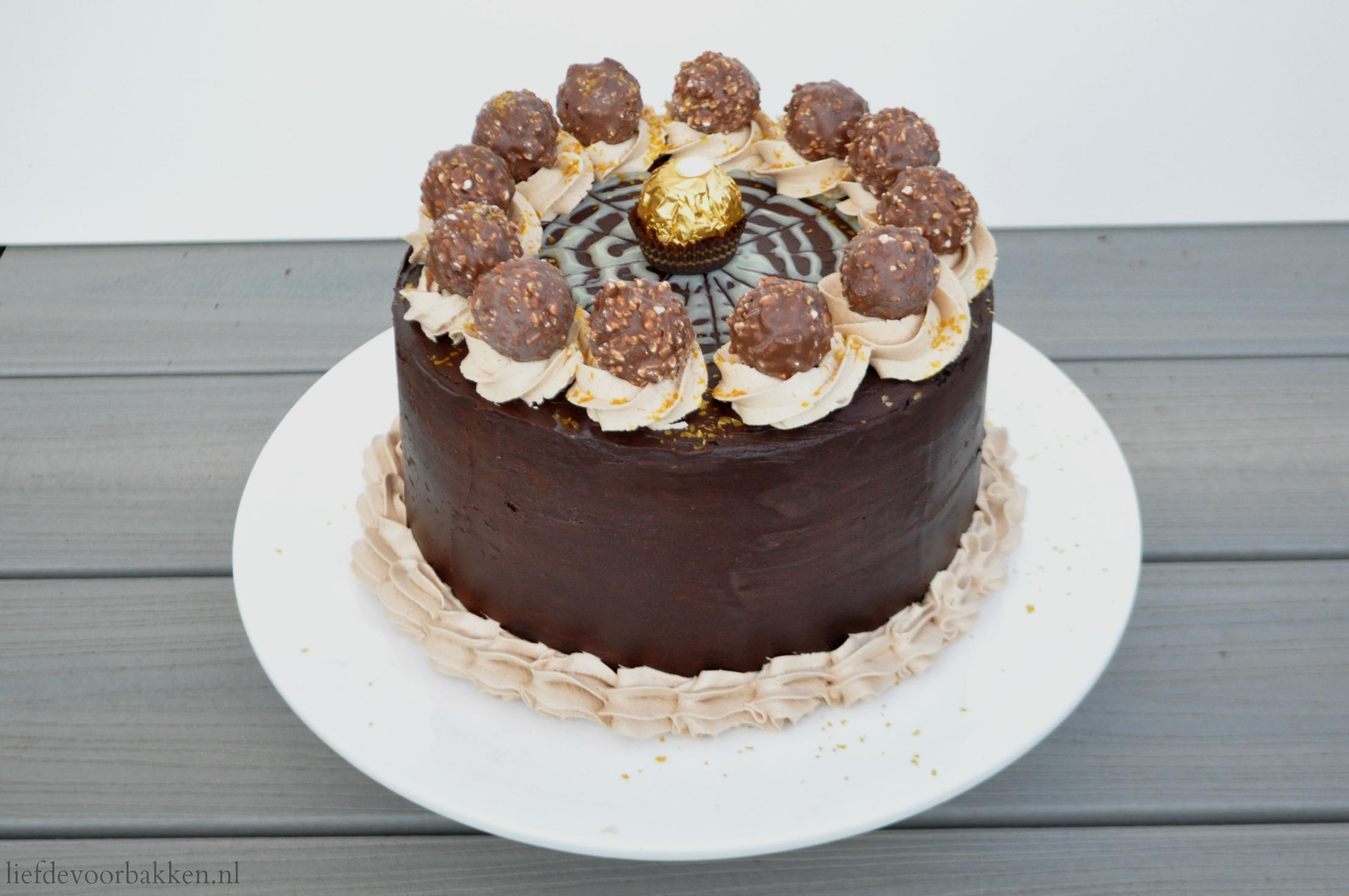 ferrero rocher taart Ferrero rocher taart – Liefde voor bakken ferrero rocher taart