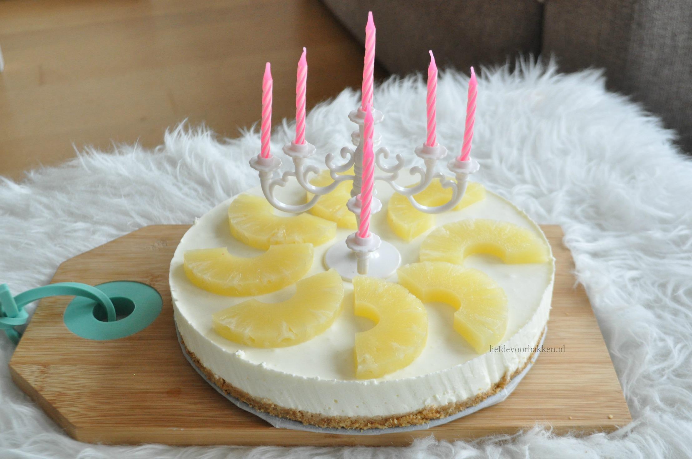 Ananas kwarktaart