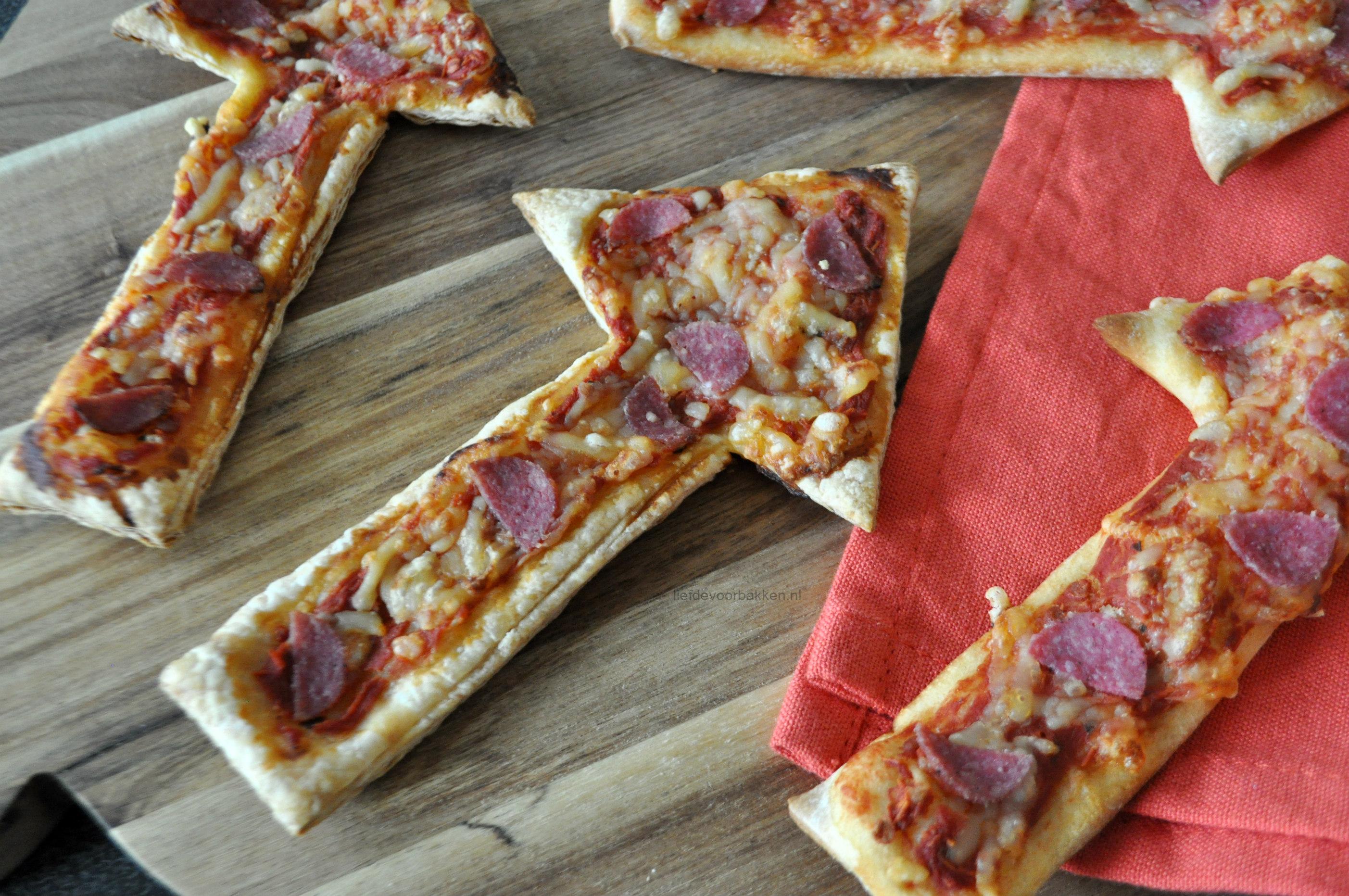 Pizza vuurwerk