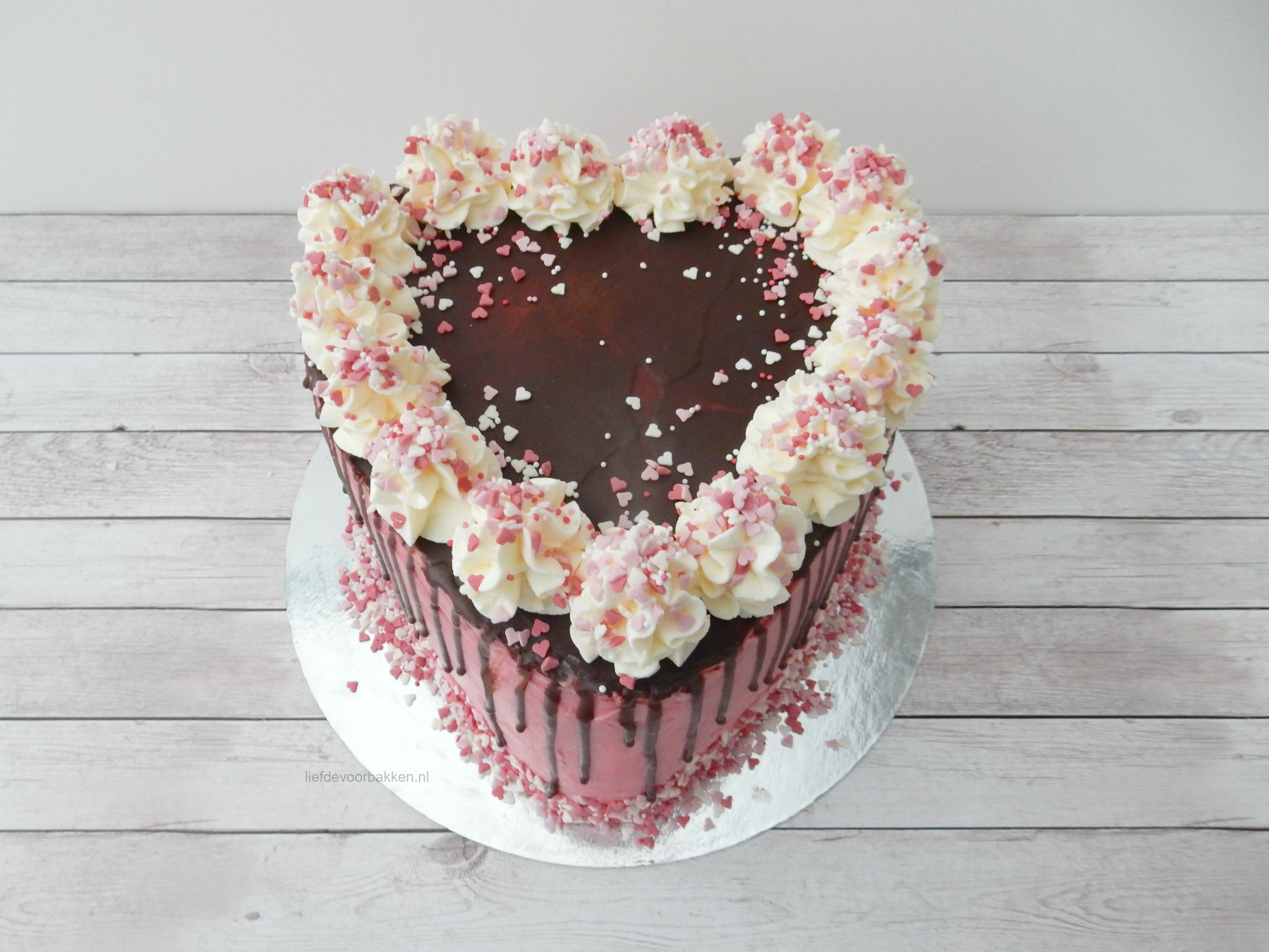 Wonderlijk Hartentaart voor Valentijn – Liefde voor bakken EV-58